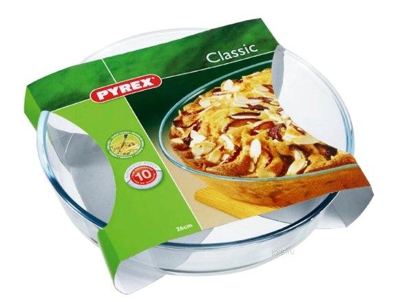 Форма для запекания плоская 26см Pyrex Smart Cooking 828B000/5046