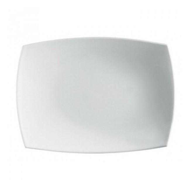 Блюдо 35см Luminarc Quadrato White D6413