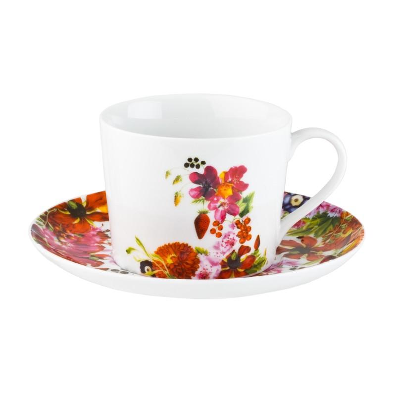 Чайный сервиз 250мл Domenik Fruits Bouquet DM9214