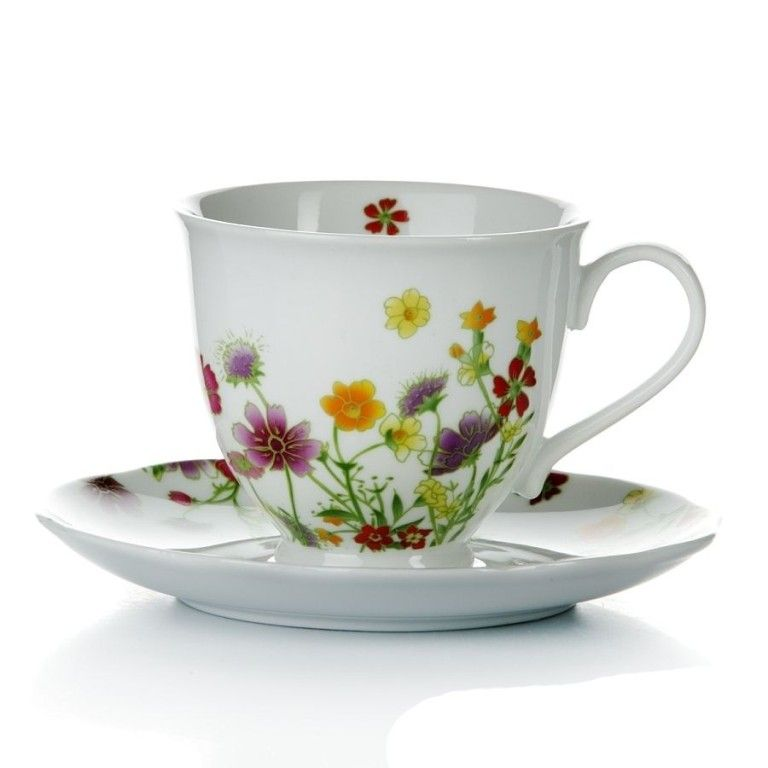 Чайный сервиз 250мл + сахарница Domenik Meadow DM9379