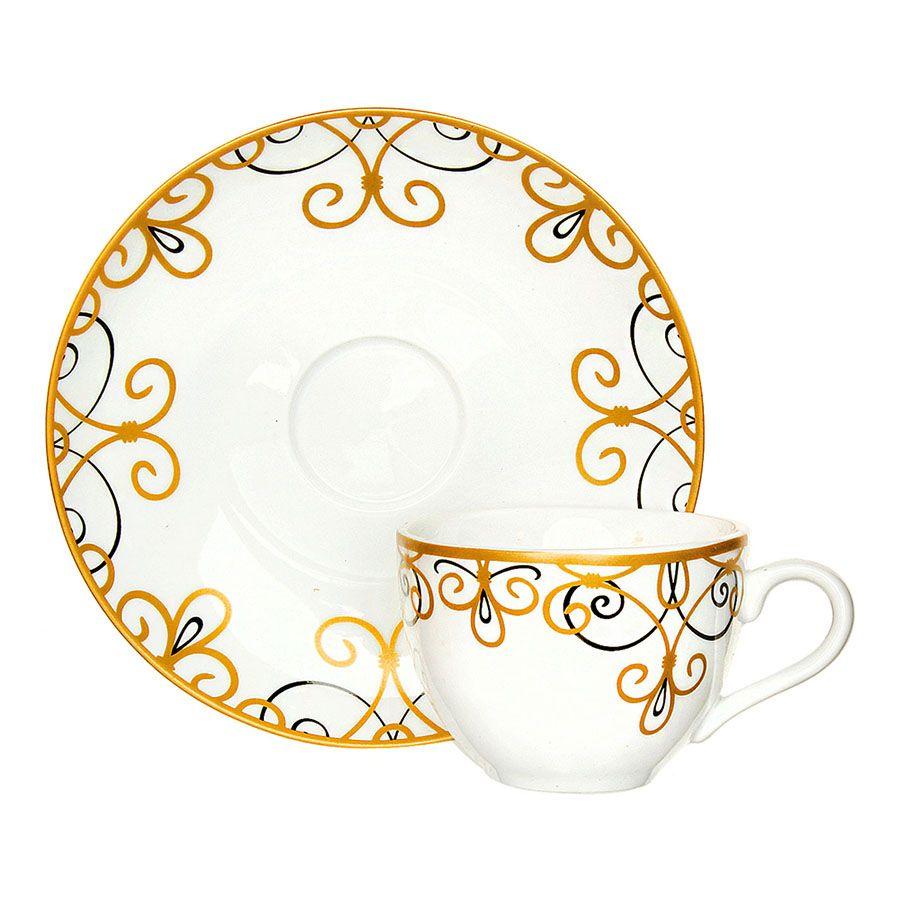 Чайный сервиз 250мл + сахарница Domenik Saint Germain DM9399