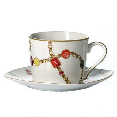 Чайный сервиз 250мл + сахарница Domenik Vendome DM9419
