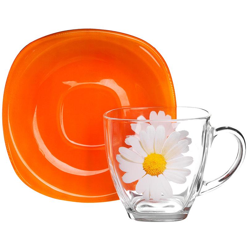 Чайный сервиз 220мл Luminarc Carina Paquerette Melon G5919