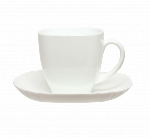 Чайный сервиз 220мл Luminarc Lotusia H1789