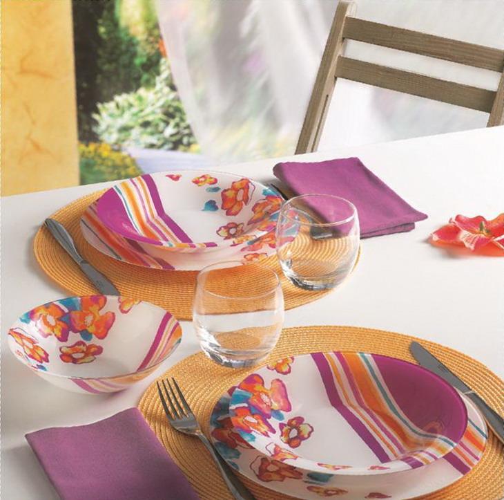 Дизайны столовой посуды
