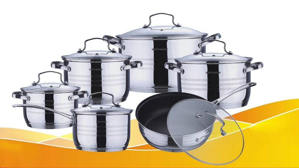 Набор посуды из 12 пр. Hoffmann HM-5114