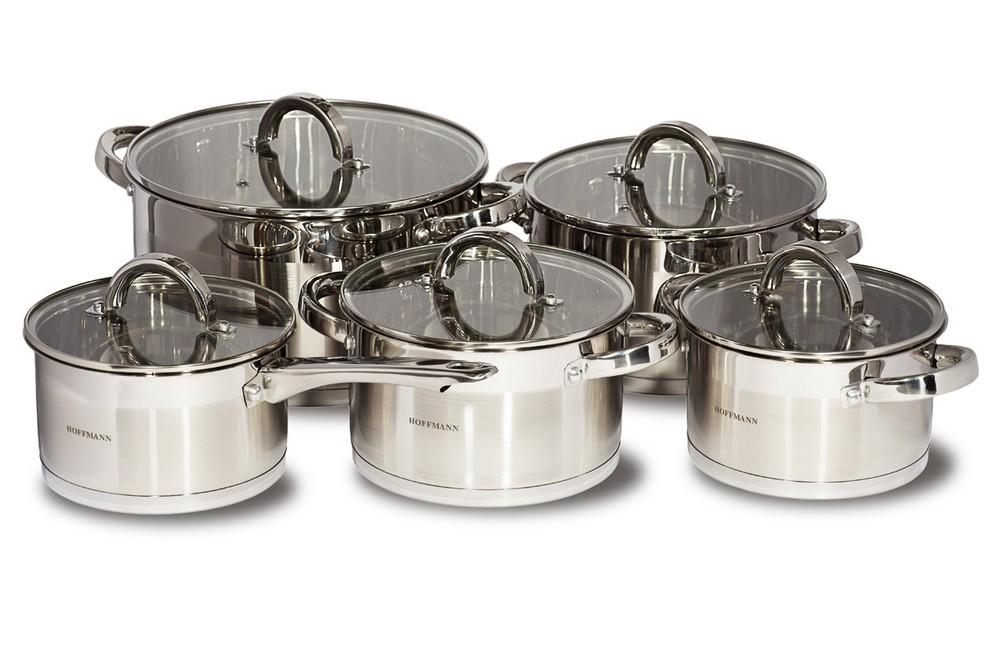 Набор посуды 10 пр. Hoffmann HM-5910