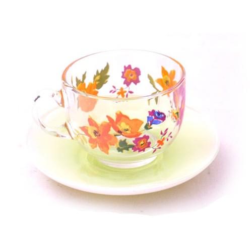 Чайный сервиз 220мл Luminarc Maritsa Green J7599