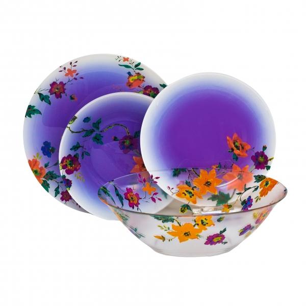 Столовый сервиз 19пр. Luminarc Maritsa Purple J7606