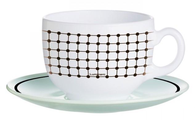 Чайный сервиз 220 мл Luminarc Tiago J7855