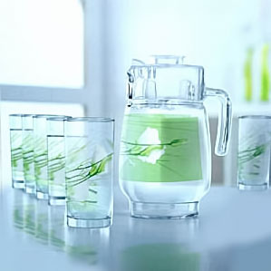 Набор питьевой Luminarc Sofiane Green J8056