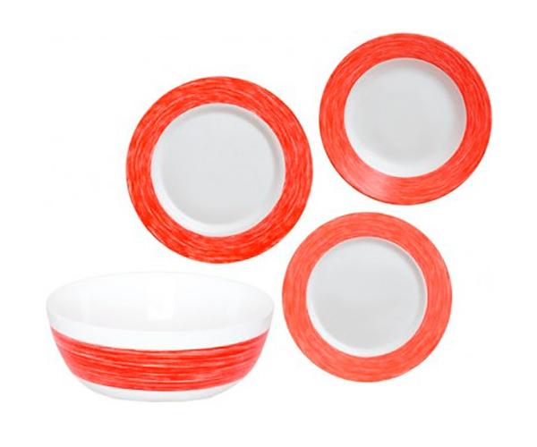 Столовый сервиз 19 пр. Luminarc Color Days Red L1508
