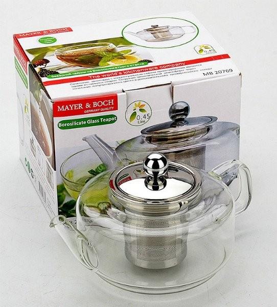 Заварочный чайник 0.45л Mayer&Boch MB-20769