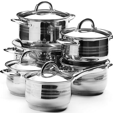 Набор посуды 12пр Mayer&Boch MB-25156