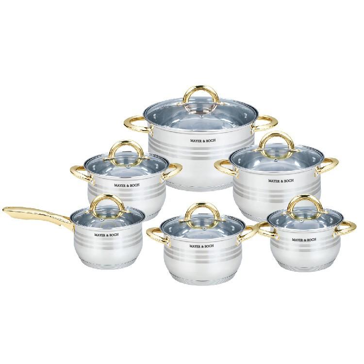 Набор посуды 12пр Mayer&Boch MB-25158