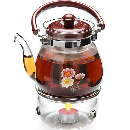 Заварочный чайник с подогревом 1.1л Mayer&Boch MB-25676