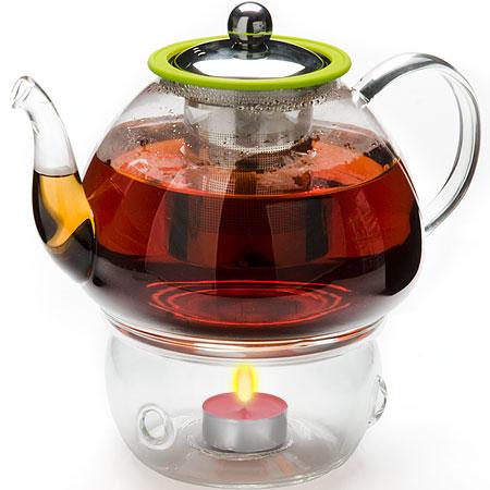 Заварочный чайник с подогревом 1.2л Mayer&Boch MB-25677