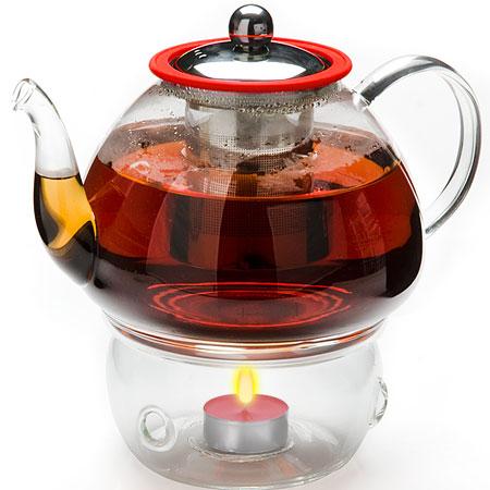Заварочный чайник с подогревом 1.2л Mayer&Boch MB-25678