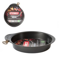 Форма пирога 26см Pyrex Black Diamond AS26BAB/E006