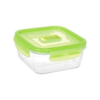Контейнер квадратный 1.22л Luminarc Pure Box Active Green N2408