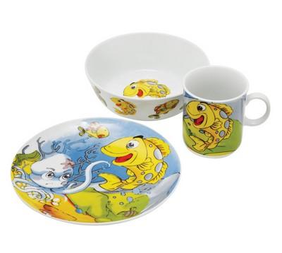 Детский набор 3 предмета Domenik Ocean Friends DM2190