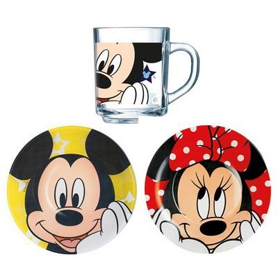 Детский набор 3 предмета Luminarc Disney Minnie Colors H6446